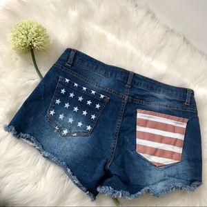 Altar'd State USA Denim Shorts - 27